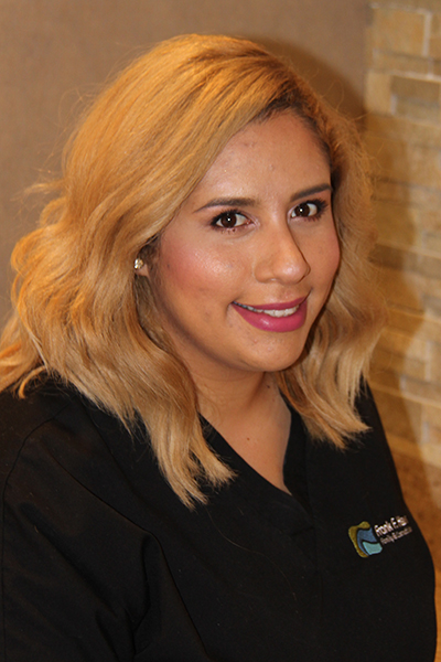 Our dental team Rebeca portrait