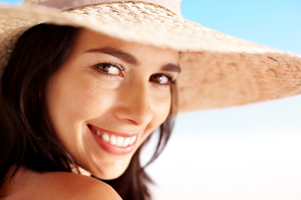 Smiling Woman. Frank Hsu, DDS, a San Carlos dentist, can restore your smile with cosmetic dentistry.